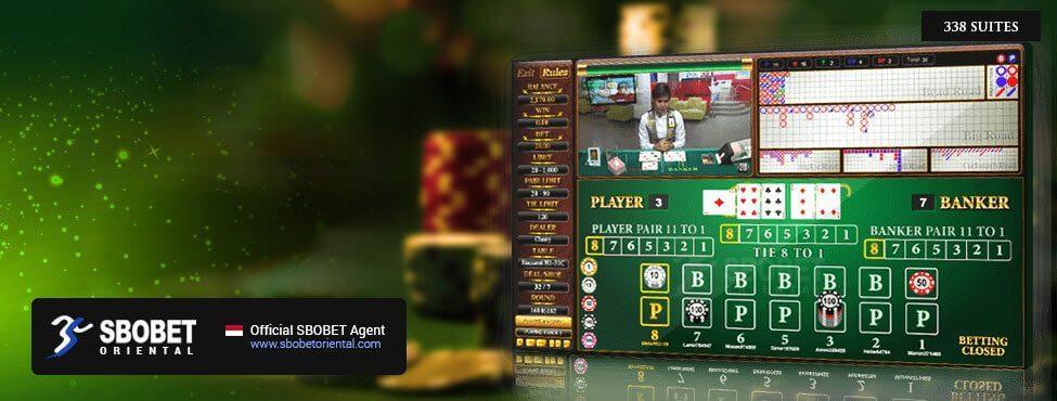 SBOBET Asia Casino Baccarat 338 Suite