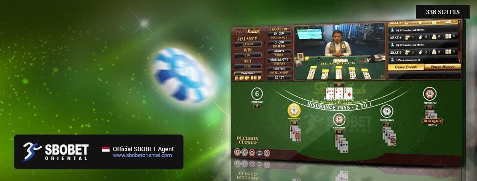 SBOBET Asia Casino Blackjack 338 Suite
