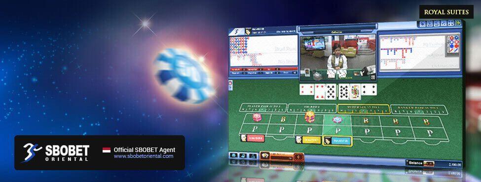 SBOBET Asia Casino Super Six Baccarat Royal Suite