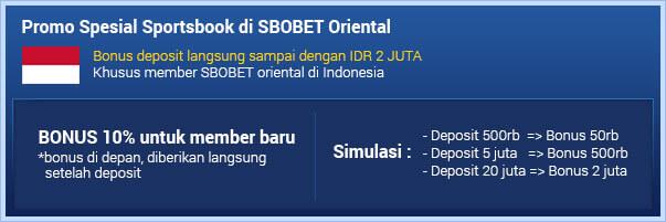 SBOBET Asia Promo Sportsbook