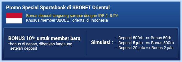 SBOBET Asia Sportsbook Promo