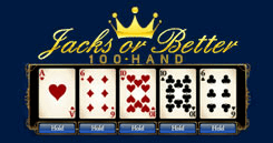 SBOBET Asia Card Games - Jacks or Better 100 Hands