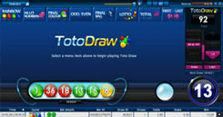SBOBET Asia Games - Toto Draw