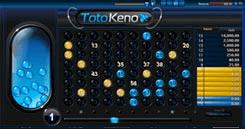 SBOBET Asia Games - Toto Keno
